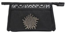 Supernatural Make-Up Bag Anti-Possession Logo Cosmetic Case NEW