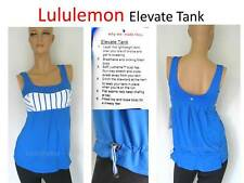 Comfortable* NWT NEW Lululemon Elevate TANK Sport Gym Yoga Top Women sz 4 -BLUE