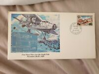 Suva Fiji 1983 First Plane Flies over South Pole 1929 FDC Unadressed Mint Rare