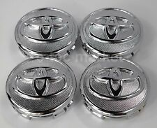 4x Toyota Prius 04-15 Corolla 2009-2013 Yaris 2006-2014 Chrome Center Caps Cap