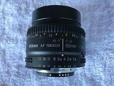 Nikon AF NIKKOR 50mm 1:1.8D  35 mm Lens Nikon