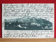 AK - Gruss aus Jamnitz / Jemnice - rechts Windrad - gel 1906 - Bezirk Třebíč