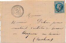 Lettre n°29 GC 4522 Fontvieille ( 12 Bouches-du-Rhone) Cover