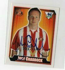 Merlin premier league football sticker 2003 Sunderland Jody Craddock No 475