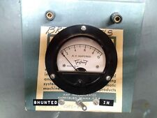 Triplett Model 331-5 AC amperes Meter home made in AMP box Steampunk