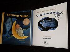 Peter Yarrow signed Sleepytime Songs hardcover book w/12 song CD