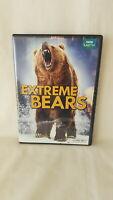 EXTREME BEARS BBC EARTH ( 2 Disc DVD Set ) GRIZZLY BROWN PANDA &  POLAR