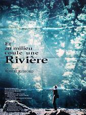 Affiche 120x160cm ET AU MILIEU COULE UNE RIVIÈRE (A RIVER RUNS THROUGH IT) 1992