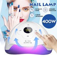 400W UV-Lampe 45 LED Lichthärtungsgerät Maniküre Nagel Trockner Nail Art