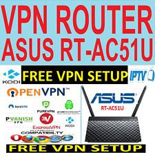 FREE VPN SETUP-  ASUS  Router - IPTV- SECURE - STREAM