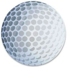 3 GOLF BALL - 3D Magnet Magnetic Golfball Car Truck Kitchen Fridge Sport Decal