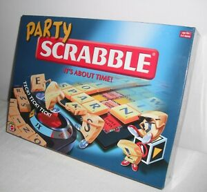 Mattel's Party Scrabble - Team Playing Version - Perfect for Christmas Day! BNIB