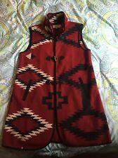 Tasha Polizzi Collection Blanket Cardigan Sweater Long Vest Coat Duster Jacket L