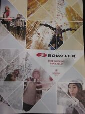 BOWFLEX CATALOG HOLIDAY 2017 BE FIT FOR LIFE BRAND NEW