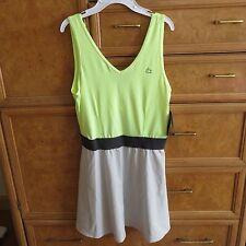 Women's Reebok Performance one piece skirt tank tennis dress L brand new NWT $60