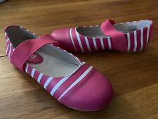Umi Kids Elaina Ballet Shoes Size 3 Youth Girls US (EUR 35) NEW Easter Pink