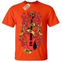 Kids Boys Girls Guns roses guitar T-Shirt