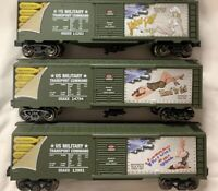 ✅MENARDS HOT GIRLS US ARMY NOSE ART WWII BOXCAR SET!