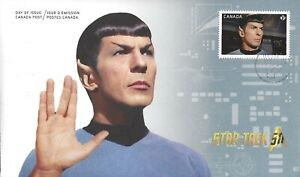 Canada    # 2920   COMMANDER SPOCK   Brand New 2016 Unaddressed Issue