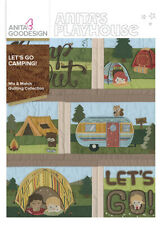 Let's Go Camping Anita Goodesign Embroidery Design Machine Cd