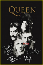 4x6 SIGNED AUTOGRAPH PHOTO REPRINT of QUEEN