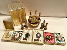 Vintage Mary Chess Perfume Lot Chess Set & Compact Pendant / Necklace Creams