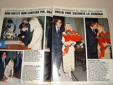 FABRIZIO DE ANDRE DORI GHEZZI clipping ritaglio FOTO articolo fotografia 1989