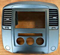 NISSAN NAVARA D40 VSK/PATHFINDER R51  DASH VENT/RADIO SURROUND, SUITS '10-'15