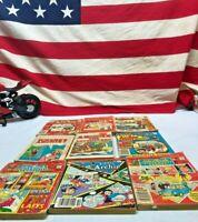 ⭐️Lot of 9 vintage Archie comics books⭐️