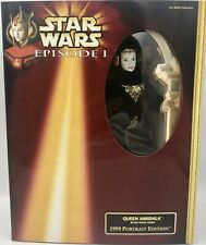 Hasbro Star Wars Episode 1 Queen Amidala Doll Black Travel Gown No. 61773