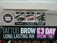 TATTOO BROW sourcils couleur chatain coloration semi permanent 3 jours R11284A