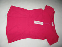 PER UNA M&S BRIGHT PINK TOP BLOUSE BNWT MARKS & SPENCER UK SIZE 12 RRP 22.50£