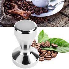 49mm Stainless Steel Espresso Coffee Tamper Machine Coffee Bean Press Flat Base