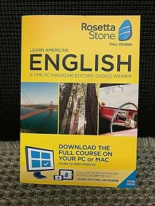 Rosetta Stone American English Full Course with 2 Years Subscription
