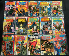 DC WAR MIXED COMIC LOT 38PC (VG-VF) UNKNOWN SOLDIER, SGT. ROCK, FIGHTING FORCES