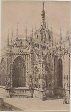 PHOTO PESENTI GENOVA ITALIA ITALIE / MILAN MILANO / 1894 / LA CATHEDRALE