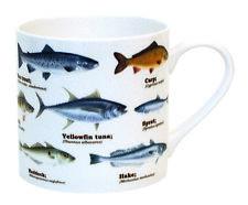 Ecologie especies de pescado Porcelana Fina Taza De Té Café De Regalo De Pesca Carpa 450