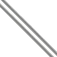 Stainless Steel Snake Chain 3.2mm New Solid Flexible Round Necklace