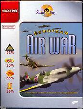 EUROPEAN AIR WAR (PC-CD-ROM). Flugsimulation. Neuwertig im Karton. 2. Weltkrieg