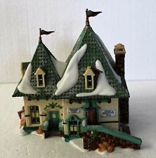 """Department 56 North Pole """"Elsie's Gingerbread Shop"""" with Magic Smoking Element"""