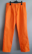 BNWT Mens Sz 122S Hard Yakka Foundations Work Pants Orange Style Y02501 UPF 50+