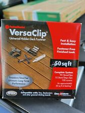 FastenMaster VersaClip 90 Count Black Self-Drilling Clip Deck Hidden Fasteners