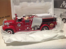 TEXACO FIRE CHIEF 1960 B-MODEL PUMPER OPEN CAB FIRST GEAR #19-2249 1:34