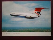 POSTCARD AIR BRITISH AIRWAYS TRIDENT 3 JETLINER