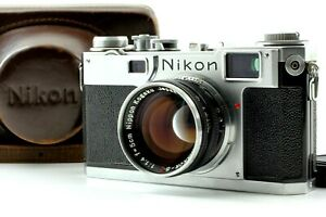 "【  Near Mint in Case / Vintage  】Nikon S2 Late "" Black Dial "" Rangefinder  Japan"