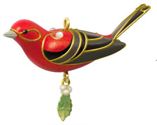 Hallmark 2018 Red Tanager Beauty of Birds Miniature Ornament