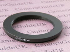 62mm to 46mm 62mm-46mm Stepping Step Down Filter Ring Adapter
