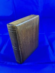 Antique Money Box styled like a book