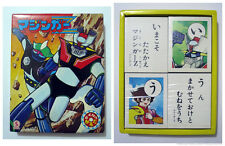 Mazinger Z Vintage Anime Karuta Card Game Set Japan 1970s Seika UNUSED