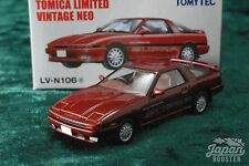 [TOMICA LIMITED VINTAGE NEO LV-N106a 1/64] TOYOTA SUPRA 2.0 GT TWIN TURBO (Red)